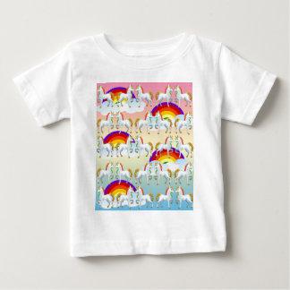 Rainbow pony baby T-Shirt