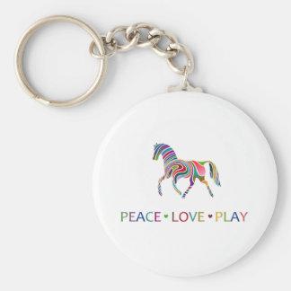 Rainbow Pony Keychains