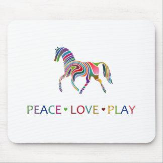 Rainbow Pony Mouse Pad