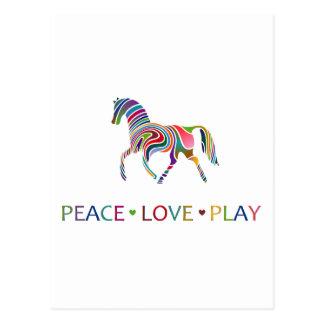 Rainbow Pony Post Cards