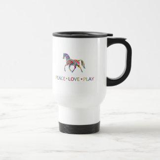 Rainbow Pony Stainless Steel Travel Mug