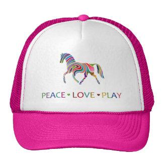 Rainbow Pony Trucker Hat