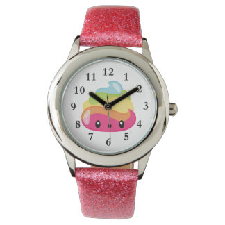Rainbow Poo Emoji Watch