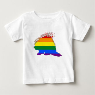Rainbow Porcupine Baby T-Shirt
