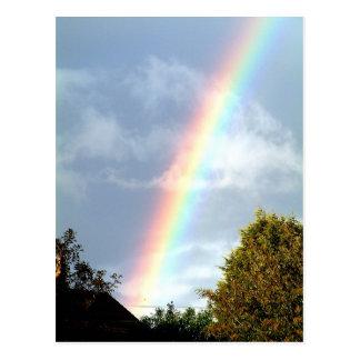 Rainbow - Postcard