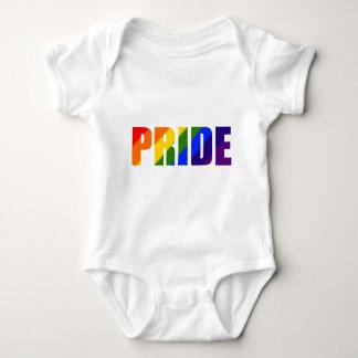 rainbow pride baby bodysuit