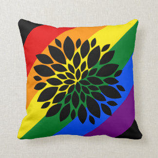 Rainbow Pride Blossom Cushion