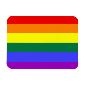 Rainbow Pride Flag Premium Magnet