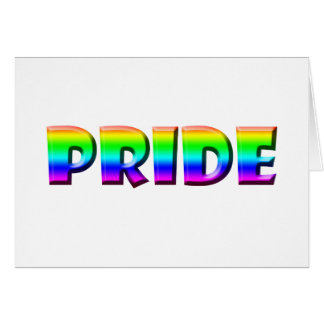 Rainbow PRIDE Greeting Card