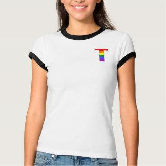 Rainbow Pride Initial T T Shirt