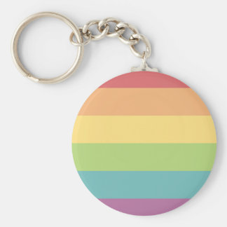 Rainbow Pride Key Ring
