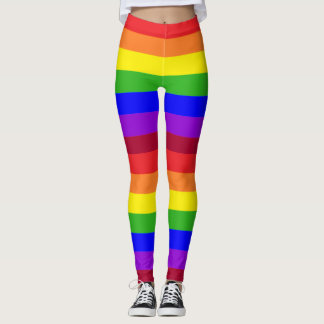 Rainbow Pride leggings tights