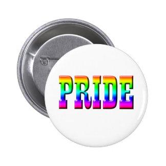 Rainbow PRIDE Pinback Buttons