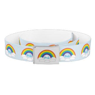Rainbow Pride Super Cute Baby Blue Belt