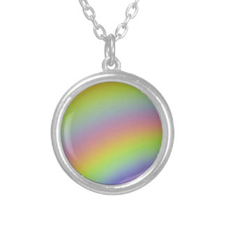Rainbow Product Silver Plated Necklace