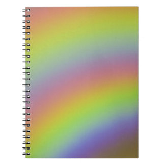 Rainbow Product Spiral Notebook