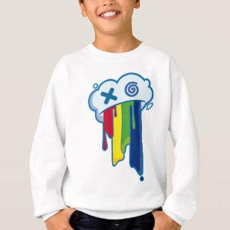 Rainbow Puke Cloud Sweatshirt