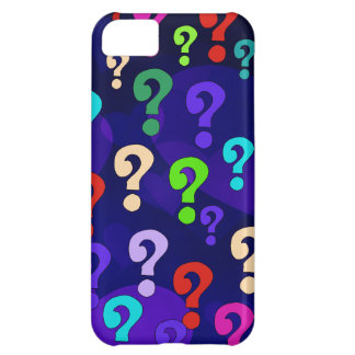 Rainbow Question Marks iPhone 5C Case