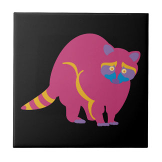 Rainbow Raccoon Tile