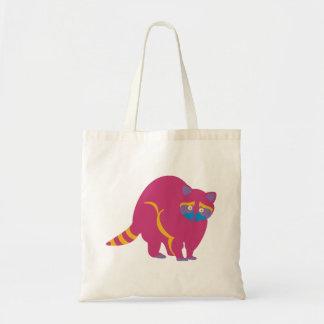 Rainbow Raccoon Tote Bag