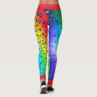 Rainbow Raindrops Leggings