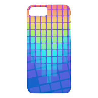 Rainbow Rectangles Pattern iPhone 8/7 Case