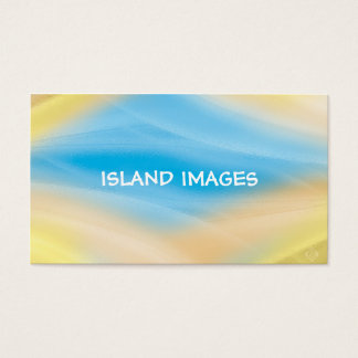 rainbow reflection business card