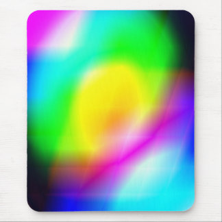 rainbow reflection mouse pad