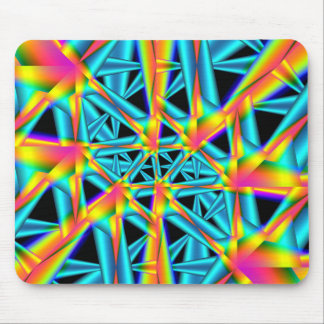 rainbow reflections mouse pad