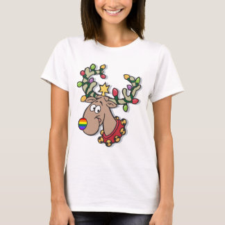 Rainbow Reindeer T-Shirt