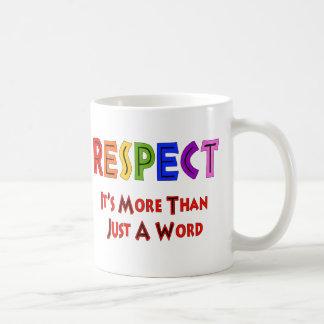 Rainbow Respect Basic White Mug