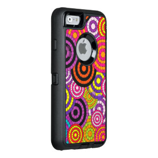 Rainbow Retro Abstract Pattern OtterBox iPhone 6/6s Case