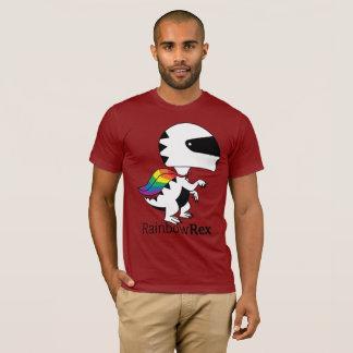 Rainbow Rex Moto T-Shirt