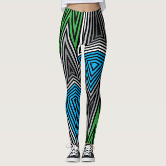 Rainbow Rex Retro Leggings: Retro Leggings