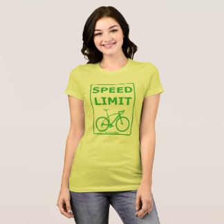 Rainbow Rex Speed Limit: Green T-Shirt
