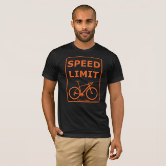 Rainbow Rex Speed Limit: Orange T-Shirt