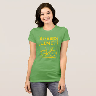 Rainbow Rex Speed Limit: Yellow T-Shirt