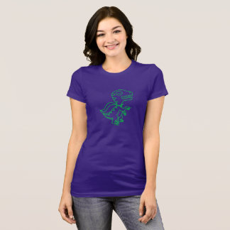 Rainbow Rex Tee: Green T-Shirt