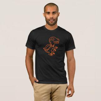 Rainbow Rex Tee: Orange T-Shirt