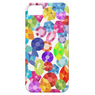 rainbow rhinestones barely there iPhone 5 case