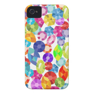 rainbow rhinestones iPhone 4 Case-Mate cases