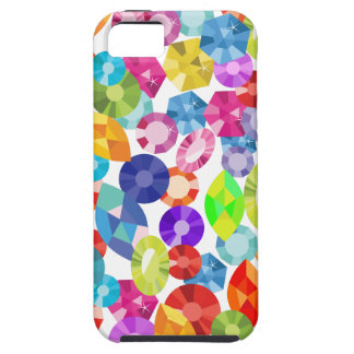 rainbow rhinestones iPhone 5 covers