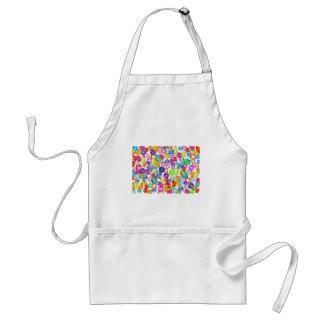 rainbow rhinestones standard apron