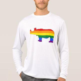 Rainbow Rhinoceros T-Shirt