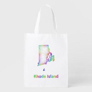 Rainbow Rhode Island map