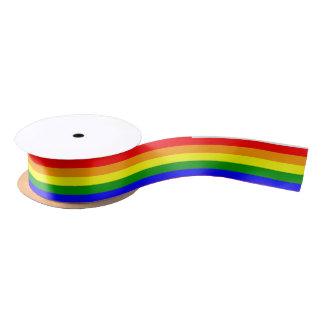 Rainbow Ribbon Satin Ribbon