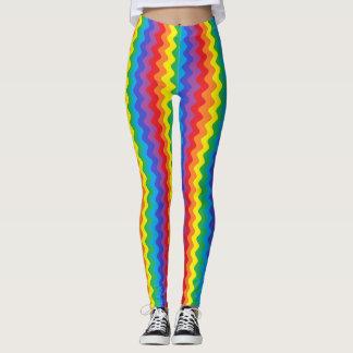 Rainbow Rickrack Leggings