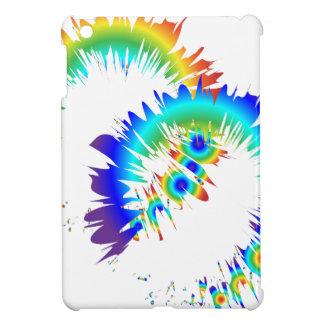 rainbow rings iPad mini covers
