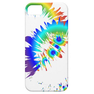 rainbow rings iPhone 5 cover
