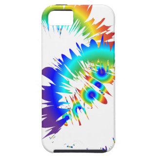 rainbow rings tough iPhone 5 case